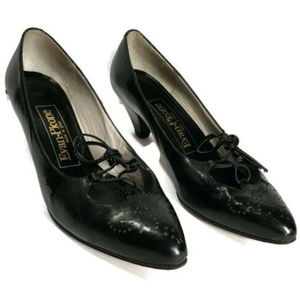 Evan-Picone Heels Leather Pumps Made in Spain, 6.5
